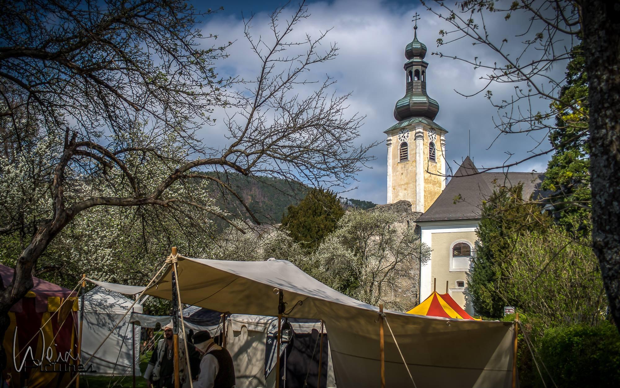Ritteressen im Schloss Gloggnitz